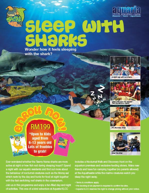 sleep with the sharks