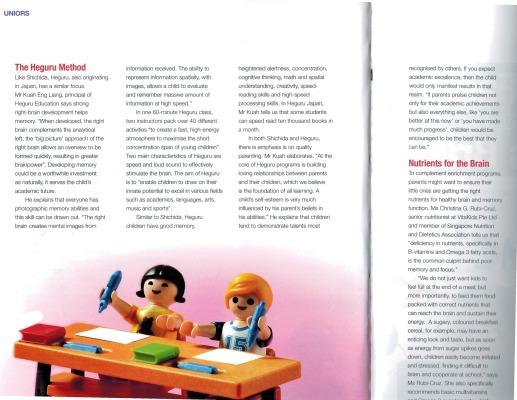 Motherhood Magazine - Brain Booster Pg 3 version 2