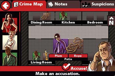 Cluedo - Accuse