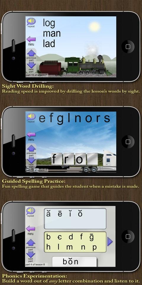 Phonics and Reading App 2