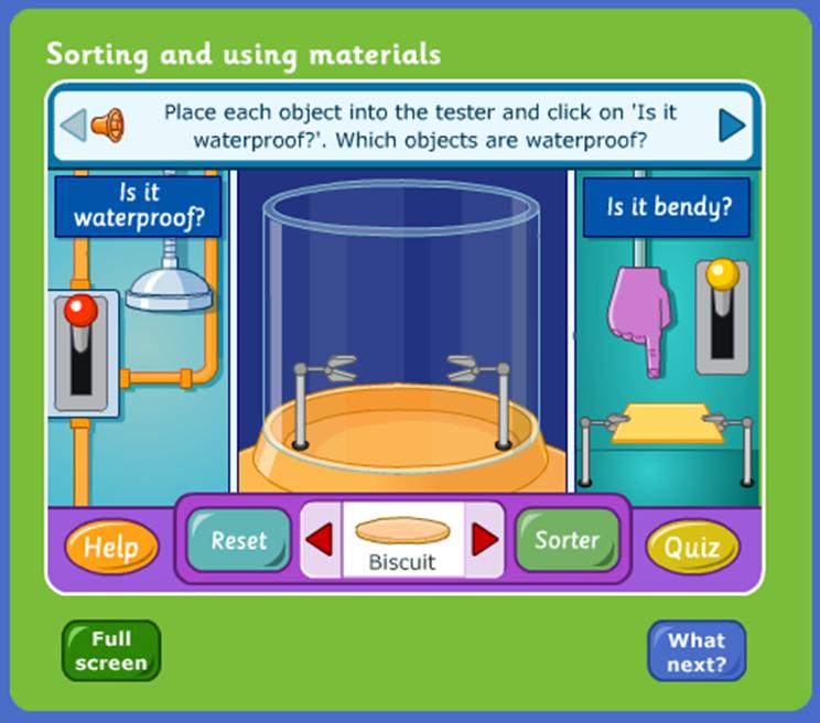 BBC schools - materials